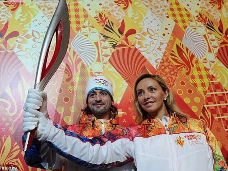 Oblečení ruských sportovců.