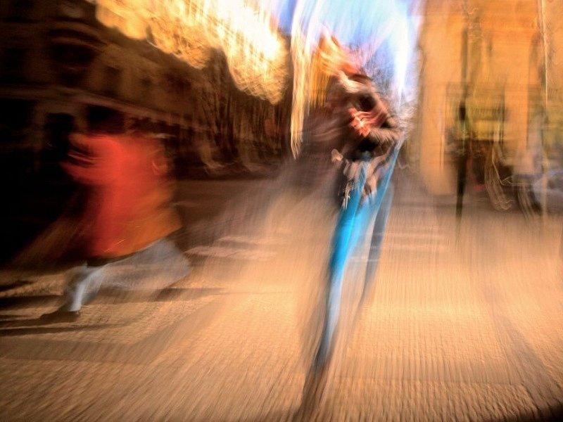 Doba expozice umožňuje zachytit na fotografii pohyb.