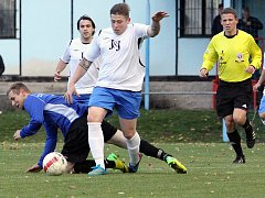 Fotbal v Chuderově. Ilustrační foto.