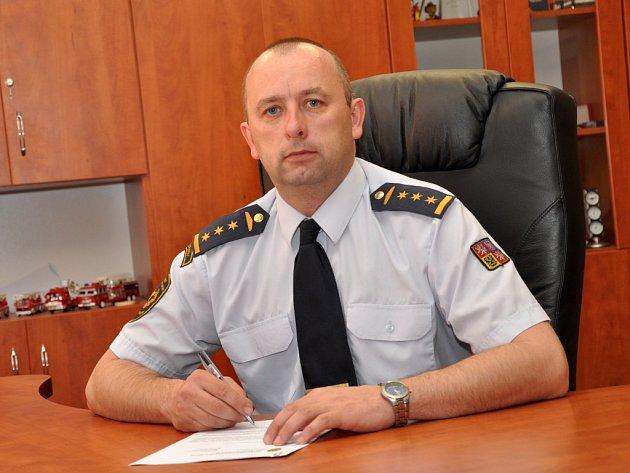 Roman Vyskočil, ředitel Hasičského záchranného sboru Ústeckého kraje.