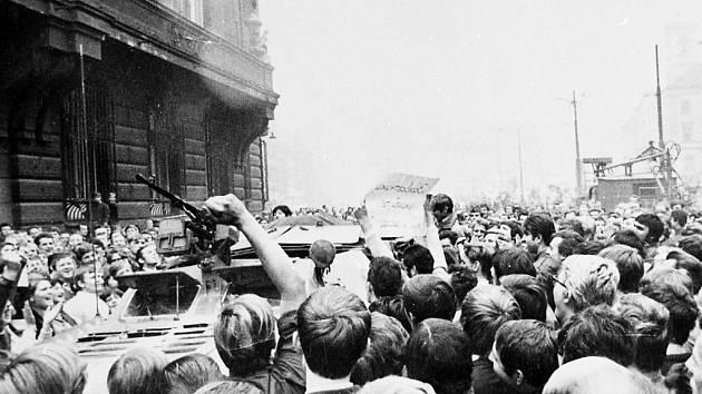 Počátky okupace v Ústí.