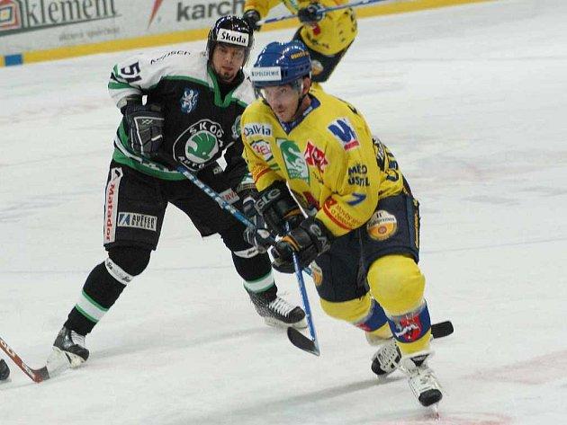 Liščák při hokejovém utkání