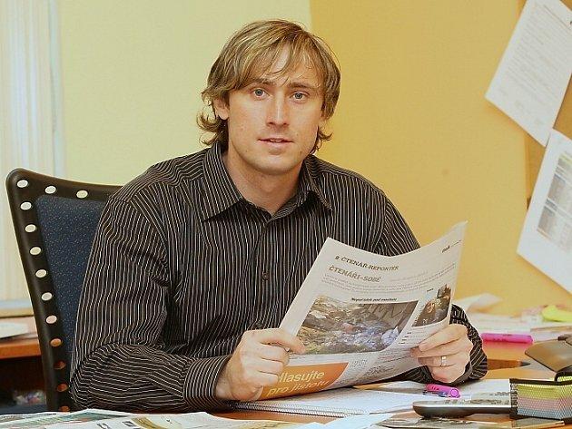 Vladimír Mayer, šéfredaktor Ústeckého deníku
