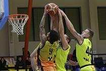 Basketbalové utkání Ústí a Graz