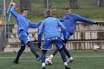Fotbalisté Ústí nad Labem začali zimní přípravu 2020 na umělé trávě Městského stadionu