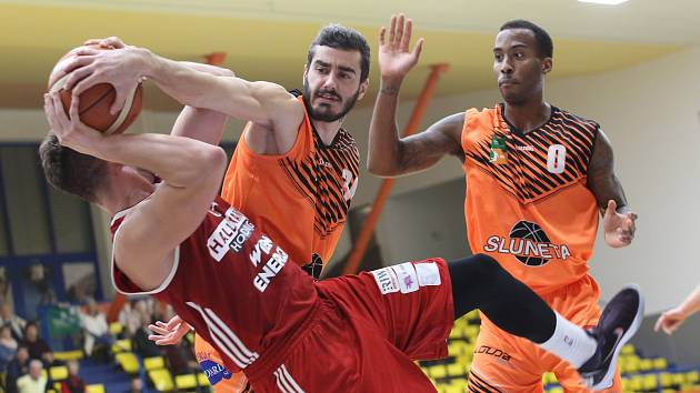 Basketbalisté Slunety. Ilustrační foto.