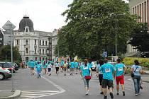 Posledním závodem v ústeckých ulicích byl květnový Běh pro život.