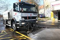 Blokové čištění ulic v Ústí nad Labem začalo.