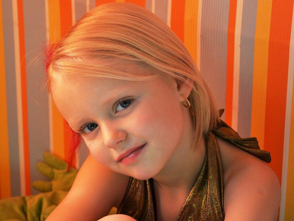 47. ŠTĚPÁNKA ZÁHOROVÁ, 7 let, Teplice.