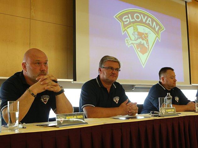 Tisková konference HC Slovan Ústí nad Labem