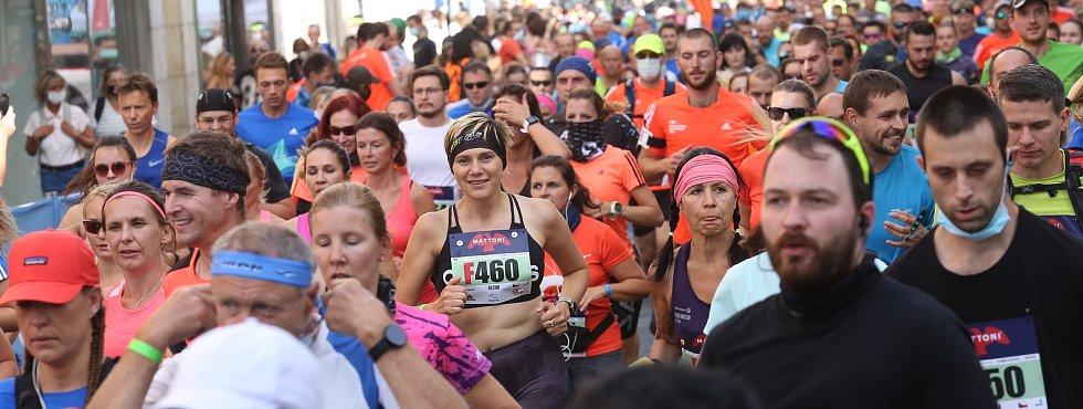 Rouškový 1/2Maraton Ústí nad Labem otevřel populární běžecký seriál.