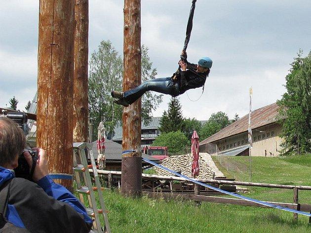 Aleš a Lenka Kostkovi z Liberce si vybrali výlet doslova za humny.