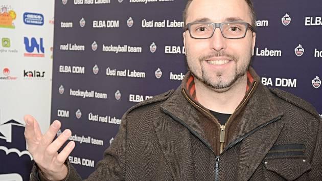 Trenér ústeckých hokejbalistů Milan Jelen.