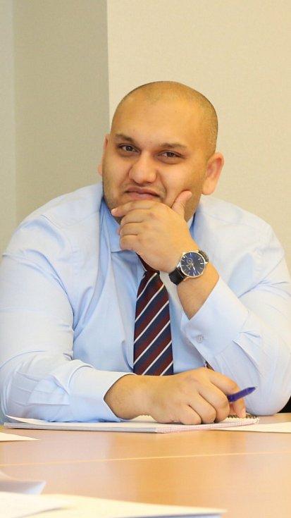 Ústecký zastupitel Martin Mata.