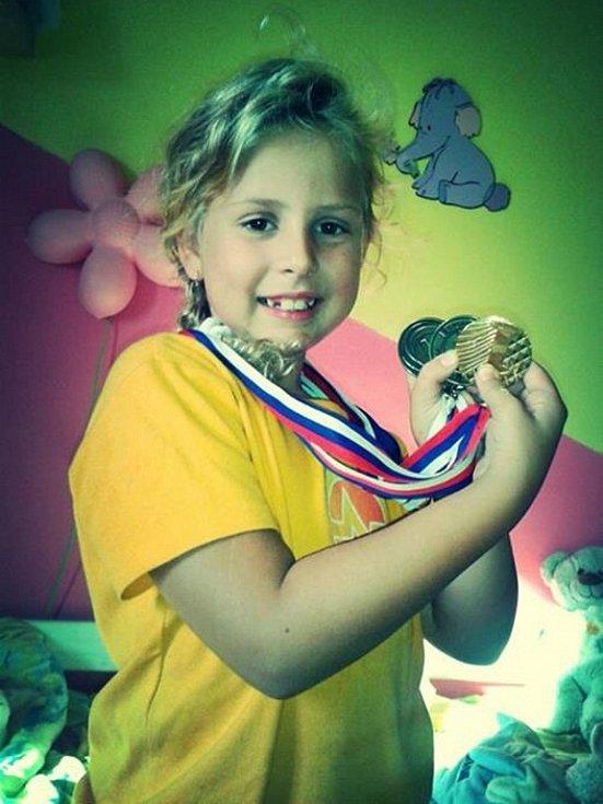 41. VIKTORKA CIGÁNIKOVÁ, 7 let, Údlice.