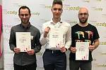 Ve finále 9. ročníku T-Mobile Rozjezdů budou kraj zastupovat Michal Doubek, druhý Josef Beneš a třetí Filip Krampla.
