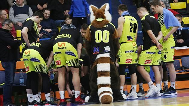 Basketbalisté Sluneta Ústí nad Labem ilustrační