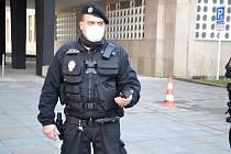 Ústecký strážník s novou kamerou