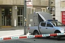 Anonym nahlásil na Mírovém náměstí v Ústí bombu.