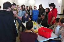 Deváťáci ZŠ Rabasova se zúčastnili Edukačního projektu design.
