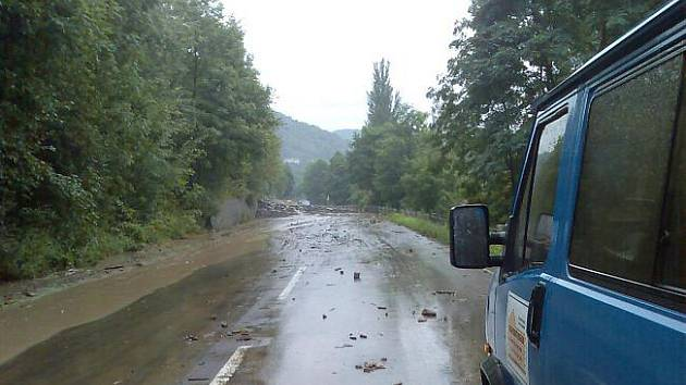 Záplavy Sebuzín