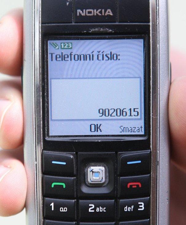 Placení v MHD s pomocí SMS - krok 2