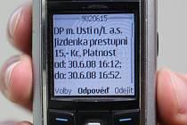 Placení v MHD s pomocí SMS - krok 3