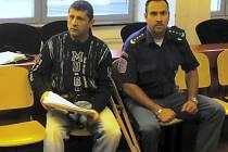 Ukrajinec Guzo (vlevo).