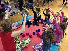 V základní škole na Skřivánku přivítali budoucí prvňáčky.