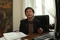 Ředitelka památkového ústavu Eva Balaštíková