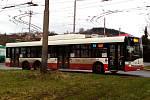 Trolejbus. Ilustrační foto