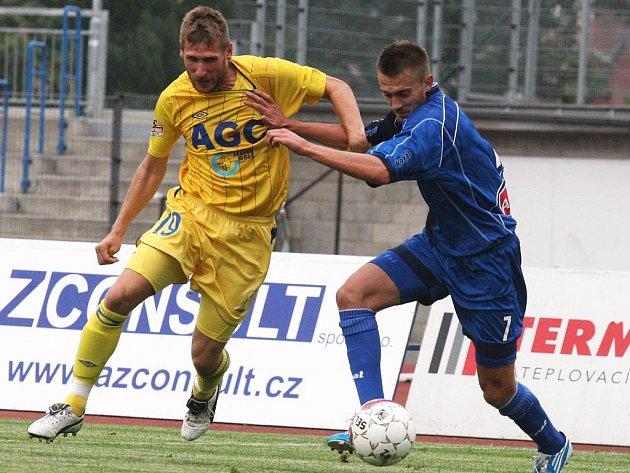 Po pohárovém střetnutí s Teplicemi čeká v pátek na ústecké fotbalisty duel na hřišti Jihlavy.