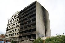 V bývalém hotelu Máj opět hořelo.