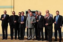 Úspěšní manažeři se s vicehejtmanem Ústeckého kraje Arnem Fišerou sešli v Teplicích.