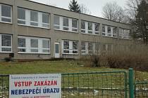 Bývalá školka ve vlastnictví UJEP