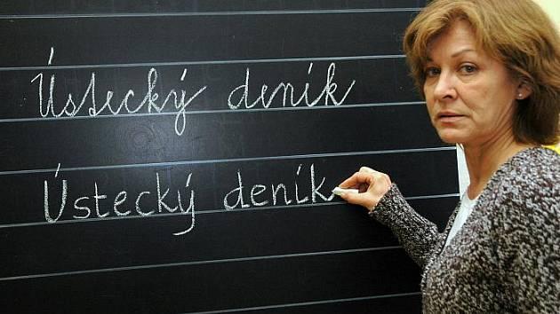 Lenka Nováková, učitelka 1.A ZŠ SNP