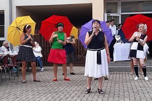Zahradní slavnost v Domově pokojného stáří svaté Ludmily v Chabařovicích