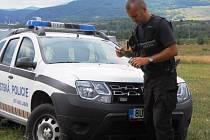 Zápřednici jedovatou odchytl strážník městské policie.