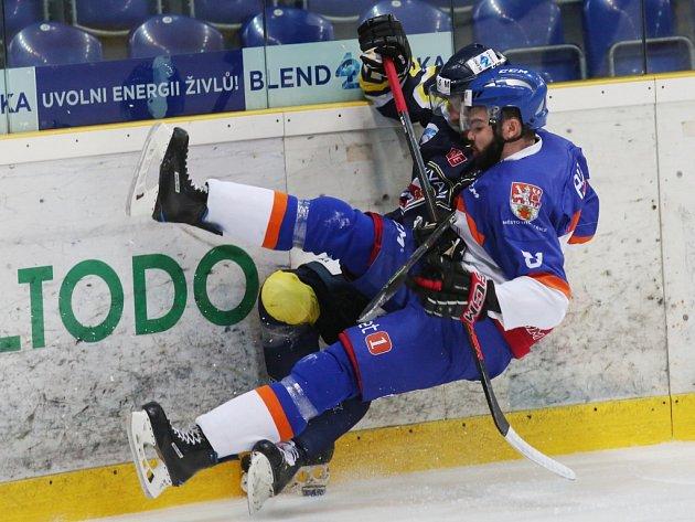 Souboje hokejistů Ústí a Litoměřic ve WSM Lize pravidelně nabízejí parádní podívanou plnou emocí a ostřejších zákroků na obou stranách.
