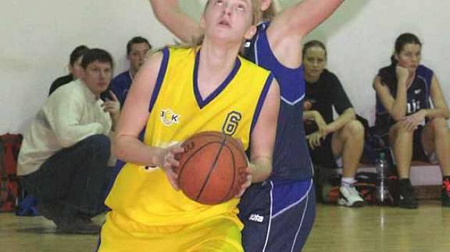 Basketbalistka Gabriela Medunová