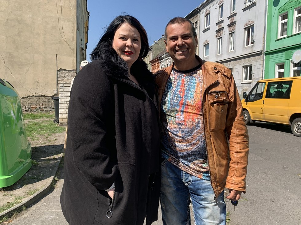 Poslankyně Eva Fialová (ANO) a bývalý místostarosta Ústí Karel Karika