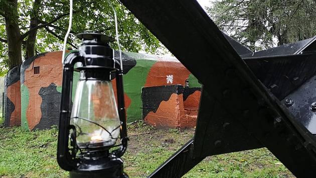 V sobotu proběhne akce Světla nad bunkry v Bunkru Velké Březno.