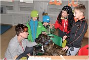 Den otevřených dveří Speciální základní školy, Mateřské školy a Praktické školy Pod Parkem.