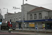 Vlakové nádraží v roce 2009