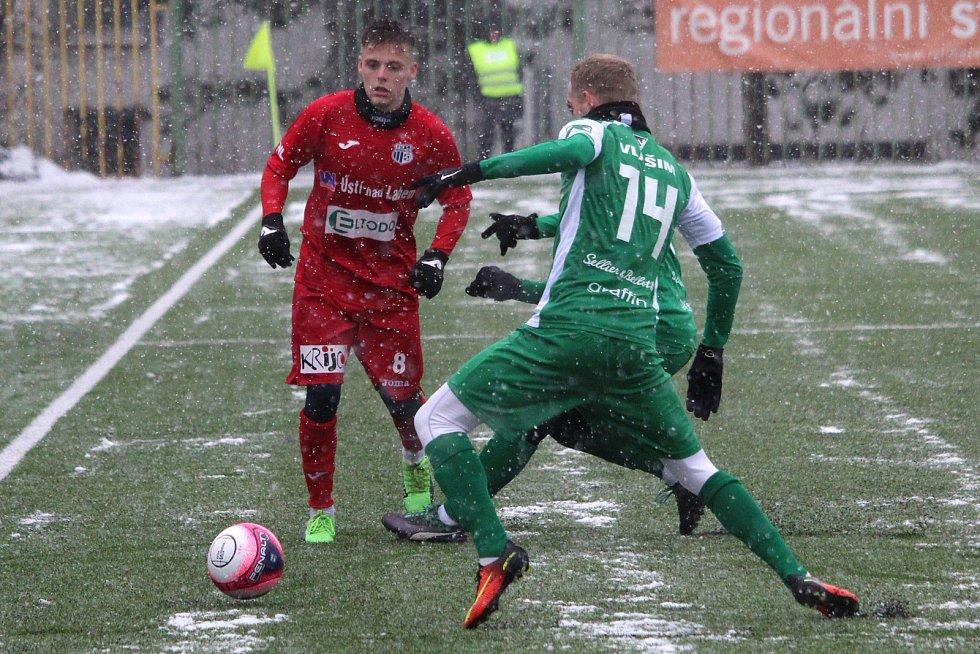 Vlašim - FK Ústí, Tipsport liga 2019, skupina Xaverov - Horní Počernice, Praha