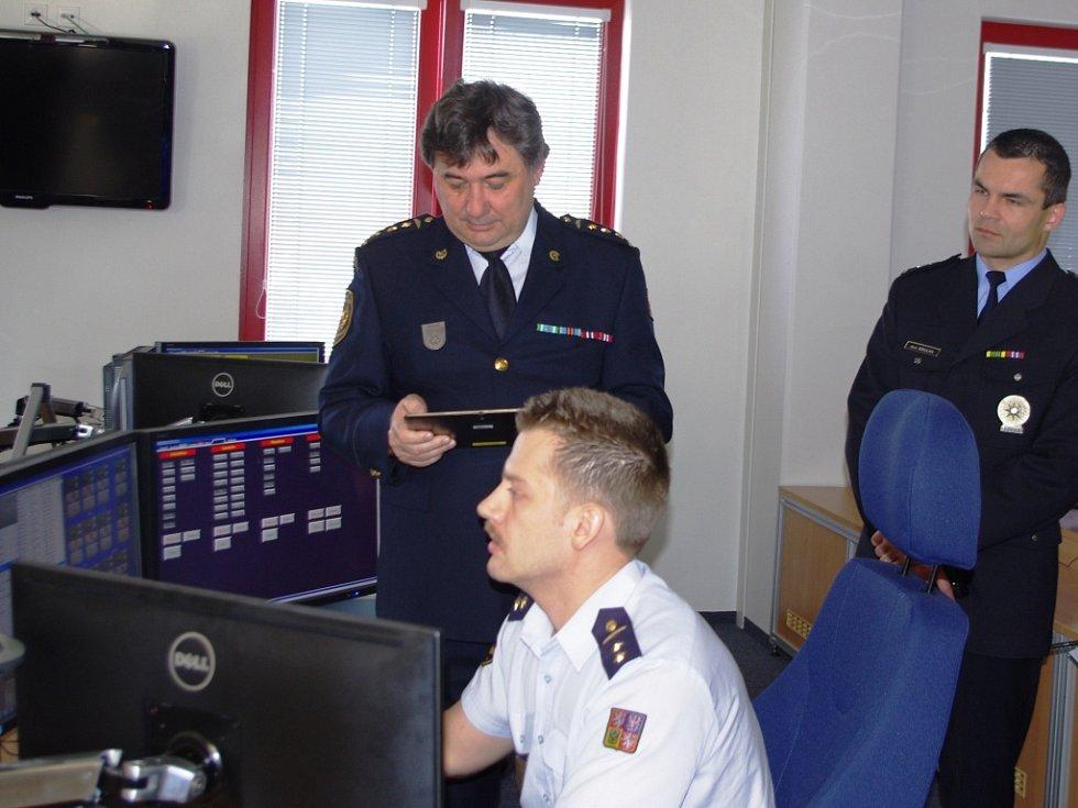 NOVÉ KRAJSKÉ OPERAČNÍ STŘEDISKO otevřeli hasiči ve stanici hasičského záchranného sboru ve Všebořicích.