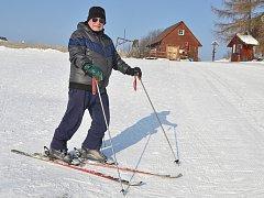 Malečov má ideální sněhové podmínky.