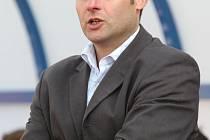 Trenér ústeckých fotbalistů Svatopluk Habanec pomýšlí na vítězství v zimní Tipsport lize.