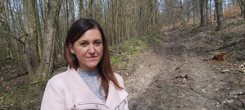 Starostka Homole u Panny na Ústecku Dagmar Mužíková