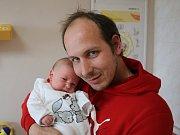 Jakub Došlý se narodil Michaele Bekové z Děčína 26. srpna v 20.50 hod. v ústecké porodnici. Měřil 53 cm a vážil 4,1 kg.